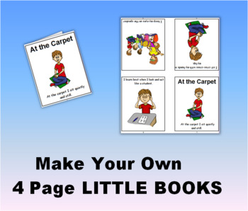 Make Your Own 4 page LITTLE BOOK