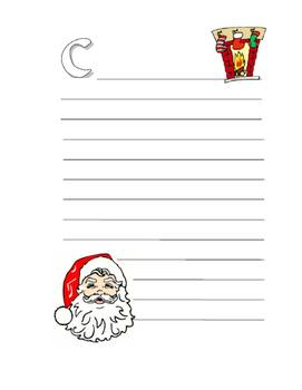 Make Your Own ABC Book About Christmas