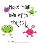 Make Your Own ALIEN Project Menu