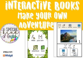 Make Your Own Adventure - interactive book