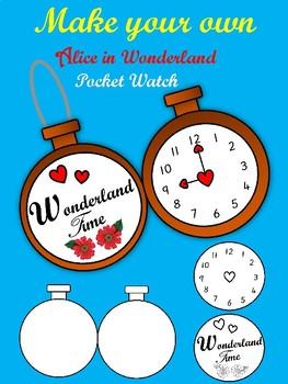 Make Your Own Alice In Wonderland Pocket Watch