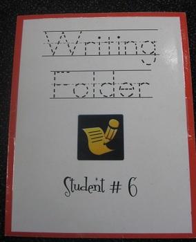 Amazing Four Pocket Writing Folders