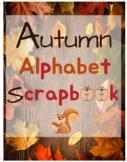 Make Your Own Autumn Alphabet Scrapbook