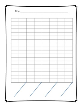 Make Your Own Bar Graph Activity
