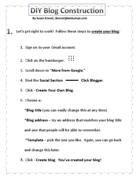 Make Your Own Blog!