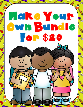 Make Your Own Bundle:  8 Products for $20