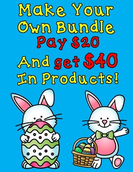 Make Your Own Bundle: Pay $20 and RECEIVE $40 in products
