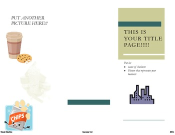 Make Your Own Business brochure SAMPLE