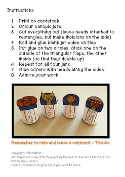 Make Your Own Canopic Jars