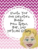 Make Your Own Caricature Templates Bundle