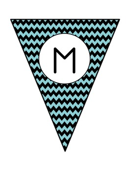 Make Your Own Chevron Banner