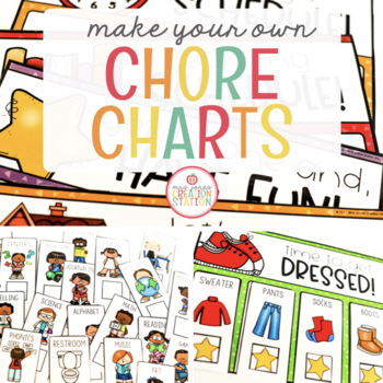 Chore Chart {Make Your Own}