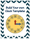 Make Your Own Clock- Free Templates