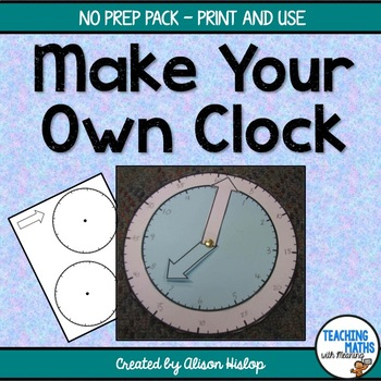 Make Your Own Clock - Freebie!