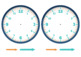 Make Your Own Clock Template - Math Time Activity