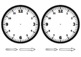 Make Your Own Clock Template - Maths Time Activity