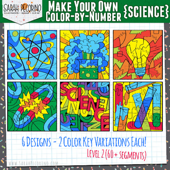 Make Your Own Color-by-Number Clip Art - SCIENCE