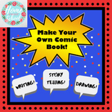 Make Your Own Comic Book Activity