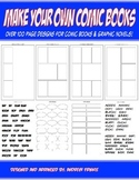 Make Your Own Comic Books - Page Design Templates and Tools for Comics and Manga