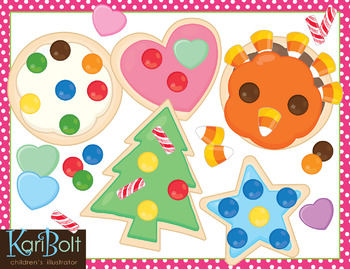 Make Your Own Cookie Clip Art and Printables