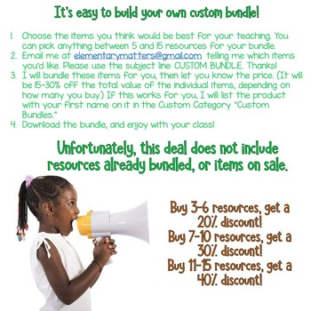 Make Your Own Custom Bundle