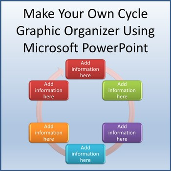 Create your own crossword teaching resources teachers pay teachers make your own cycle diagram using microsoft powerpoint ccuart Image collections