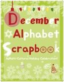 Make Your Own December Alphabet Scrapbook