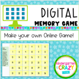 Make Your Own Digital Memory Match Game - Distance Learning