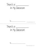 "Make Your Own Dr. Seuss ""There's a ______in my Classroom"" Book"