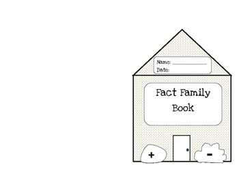 Make Your Own Fact Family Book