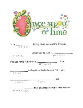 Make Your Own Fairy Tale- Female Version