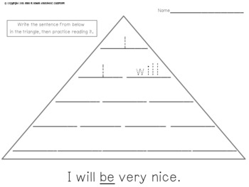 Make Your Own Fluency Triangles ®: Primer Edition