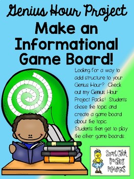 Make Your Own Game Board for ANY Topic - Great for Genius Hour Projects!