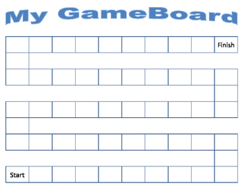 Make Your Own Game - Game Board