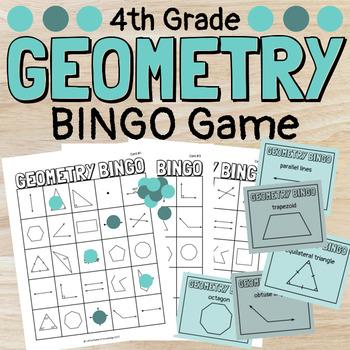 Make Your Own Geometry Bingo