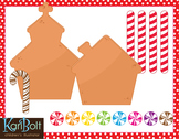 Make Your Own Gingerbread House Printable and Clip Art