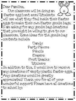 Make Your Own Goodie Bag Easter Egg Hunt