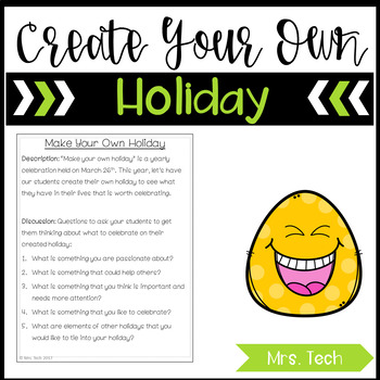 Make Your Own Holiday Activity Freebie