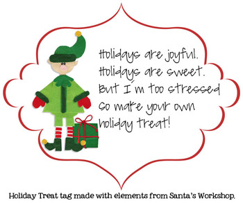 Make Your Own Holiday Treat {Printable Tag}