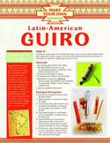Make Your Own Latin American Guiro