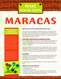 Latin-American Intruments - Make Your Own Maracas