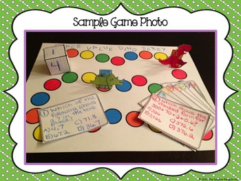 Make Your Own Math Game Project {Just Print}