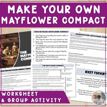 Make Your Own Mayflower Compact