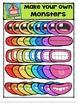 P4 MAKE YOUR OWN Monsters {P4 Clips Trioriginals Digital Clip Art}