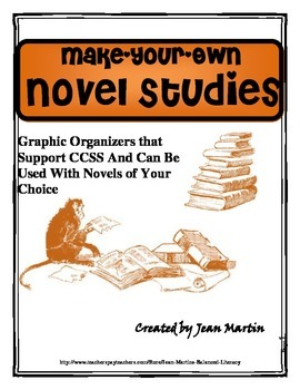 Make-Your-Own Novel Studies, by Jean Martin