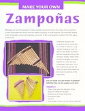 Latin American Instruments - Make Your Own Panpipes (Zampoñas)