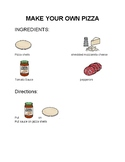 Make Your Own Pizza-Visual Recipe