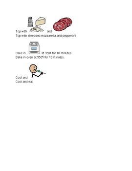 Make Your Own Pizza-Visual Recipe