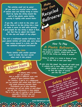 Make Your Own Plastic (Recycled) Bullroarer