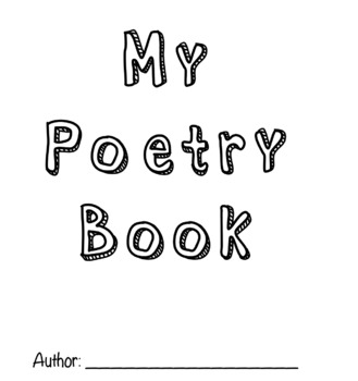 Make Your Own Poetry Book!